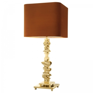 Настольная лампа Eichholtz Table Lamp Abruzzo brass